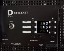 D8G control panel